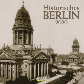 Historisches Berlin 2020: Broschürenkalender mit Ferienterminen