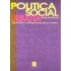Política social urbana. Normativa y configuración de la ciudad
