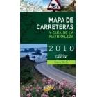 Mapa de carreteras y Guía de la Naturaleza de España 1/800.000 2010