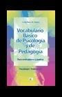 Vocabulario básico de Psicología y Pedagogía