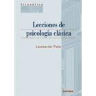Lecciones de Psicología Clásica