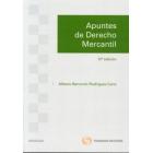 Apuntes de derecho mercantil:Derecho Mercantil, Derecho de la Competencia y Propiedad Industrial(Edición 12ª)