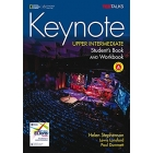 Keynote Upper-Intermediate - Student's book + Workbook Combo SPLIT A + DVD + CD