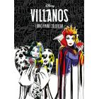 Villanos. Libro para colorear