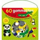 Les animaux sauvages - Tes activités gommettes et coloriages (Malette + 60 gommettes avec un poster à colorier)