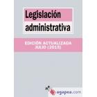 Legislación administrativa 2015
