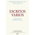 Escritos varios (1927-1974). Edición crítico-histórica (Preparada por Philip Goyret, Fernando Puig y Alfredo Méndiz)