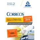 Personal Laboral de Correos y Telégrafos. Temario Volumen II