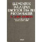 Elementos para una enciclopedia del psicoanálisis. El aporte freudiano