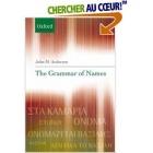 The Grammar of Names