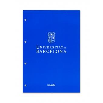 Bloc de Notes A4 UB (Marxandatge Oficial de la Universitat de Barcelona)