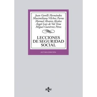 Lecciones de Seguridad Social (8ª edición 2018)