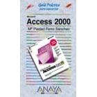 Guía práctica para usuarios Access 2000