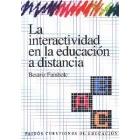 La interactividad en la educación a distancia