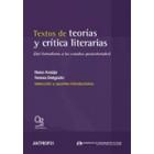Textos de teorías y crítica literaria: del formalismo a los estudios postcoloniales (Selección y estudios introductorios)