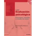 Evaluación psicológica : Conceptos, métodos y estudio de casos