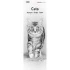 Katzen 2018 Lesezeichenkalender