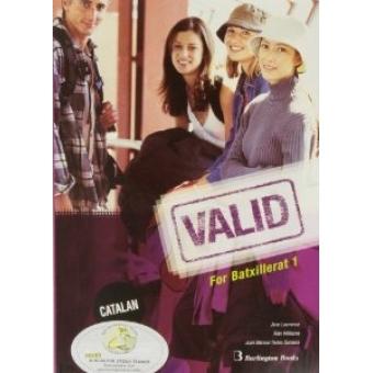 VALID for Batxillerat 1 (Catalan ed): student's book + interactive CD-ROM, Burlington Speech trainner (Microfono +Speech CD))