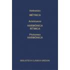 Métrica griega/Harmónica-Rítmica/Harmónica