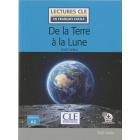 De la Terre à la Lune (Lectures clé en français facile)