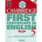 First certificate english with answers 5 Self-study Pack