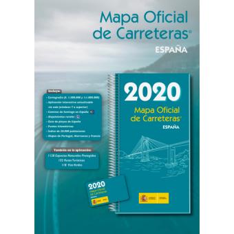 Mapa Oficial De Carreteras De Espana 2019 Ministerio De Fomento