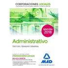 Administrativo de las Corporaciones Locales.Test del temario general (2018)