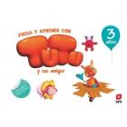 Juega y aprende con Tutu y sus amigos. 3 años
