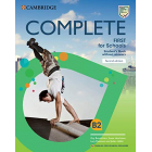 Complete First for Schools 2nd edition For Spanish Speakers - Student's Book + Workbook + Workbook Audio WITHOUT answers