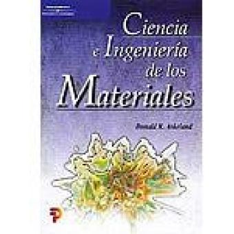 Ciencia e ingeniería de los materiales.