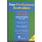 New proficiency testbuiler