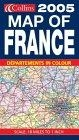 Collins 2005 map of France
