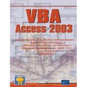 VBA. Access 2003. Colección open it