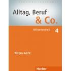 Alltag, Beruf & Co. 4, Wörterlernheft