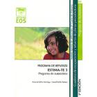 ESTIMA-TE 3. Programa de autoestima. Programa de refuerzo. Cuaderno de recuperación y refuerzo de planos psicoafectivos. 3º de Primaria