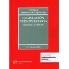 Legislación presupuestaria