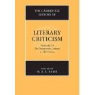 The Cambridge history of literary criticism, vol. 6: the Nineteenth-Century, c.1830-1914