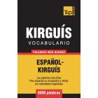 Vocabulario Español-Kirguís - 9000 palabras más usadas