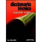 Diccionario técnico : español-inglés