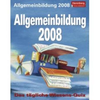 Harenberg Kalender 2008 Allgemeinbildung