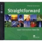 Straightforward Upper-Intermediate. Class Audio CDs