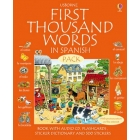 Usborne First Thousand Words in Spanish Pack