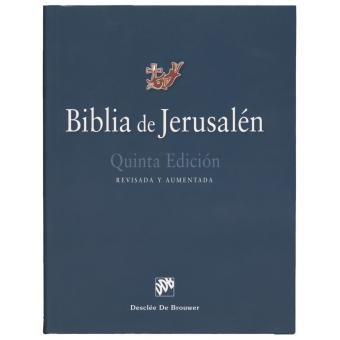 Biblia de Jerusalén (5ª edición totalmente revisada y aumentada)