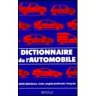 Dictionnaire de l'automobile : index anglais/américain-français