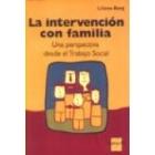 La intervención con familia. Una perspectiva desde el trabajo social