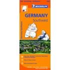 Alemania Suroeste-Germany Southwest (regional-naranja) 545 1/300.000