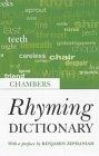 Chambers Rhyming Dictionary