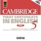 Cambridge First Certificate in English 5 (2 CDs)