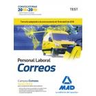 Personal Laboral de Correos y Telégrafos.Test