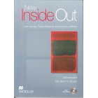 New Inside Out Advanced Student's Book with CD-ROM Pack